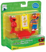 Elmo ernie play pack
