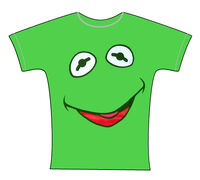 Kermit-face-tshirt