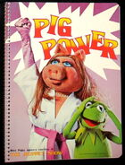 Muppet show notebooks pig power 1