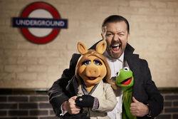 RickyGervais-KermitPiggy