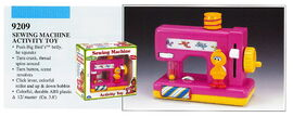 Illco 1992 baby toys sewing machine activity toy