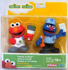 Playskool friends at work grover elmo