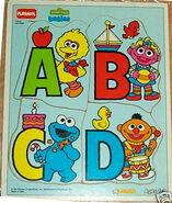Sesame Street Babies Letters Puzzle