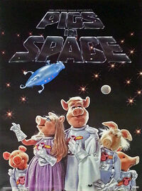 Scandecor pigs in space poster