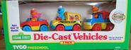 Tyco matchbox die-cast vehicle car sets 1
