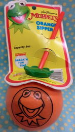 Superseal 1988 muppets orange sipper 1