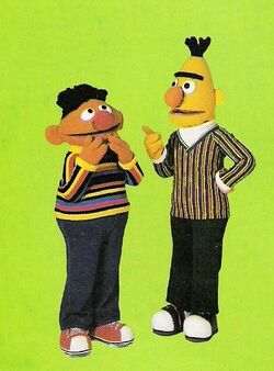 Bert and ernie 1st live