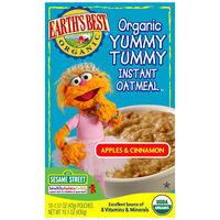 Apples & Cinnamon Organic Yummy Tummy Instant Oatmeal