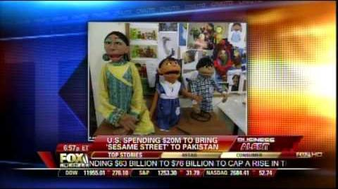 Lenore Hawkins joins Cavuto to discuss Sesame Street in Pakistan!