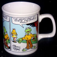 Enesco 1983 comic strip mug 3