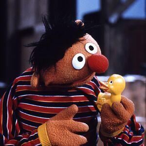 Ernie rubber duckie