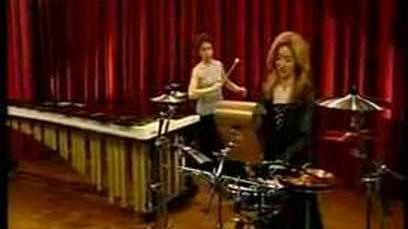 Evelyn Glennie and Linda