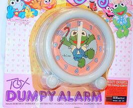 Tox brampton 1986 muppet babies dumpy alarm clock 2