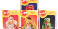 Muppet die-cast cars (Corgi)