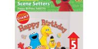Sesame Street Scene Setters