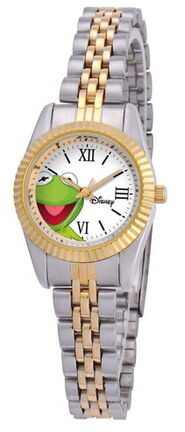 Ewatchfactory kermit two-tone status watch
