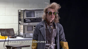 Kate McKinnon Ghostbusters camera test