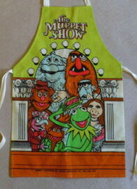 Muppet show uk kids apron