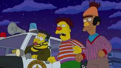 Simpsonsernieberthalloween