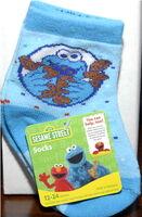 Socks cookie monster high point