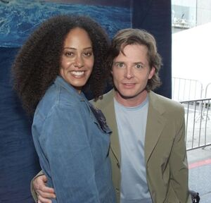 Cree Summer and Michael J Fox