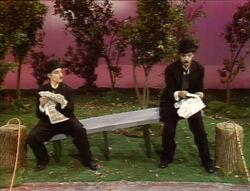 Chaplin-Bench