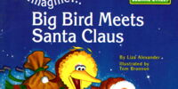 Imagine... Big Bird Meets Santa Claus
