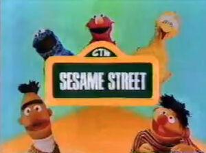 SesameStreet90sJapaneseTitle