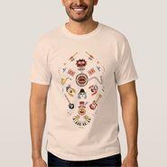 Zazzle electric mayhem iconic graphic shirt