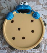 Cookie monster tambourine blue box toys 2
