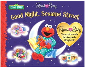 Good night sesame street record a story
