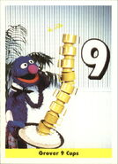 1992 sesame trading cards 10