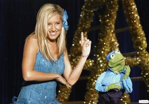 Ashley tisdale kermit