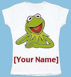 Kermit You Design It Tee