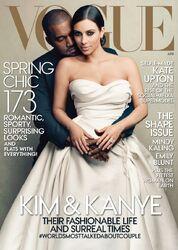 Vogue-KimKardashian&KanyeWest-(April-2014)