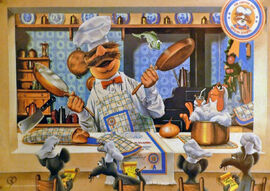 Swedish Chef poster 1981 Jones New York at Home