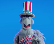 Sam Eagle - Uncle Sam 2014 Facebook
