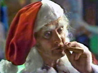 Smoking santaswitch cosmo