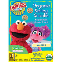 Organic Vanilla Smiley Snacks