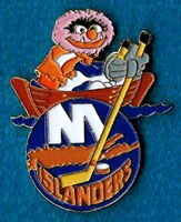 Hockey pin new york islanders
