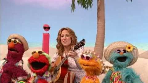 Sesame Street Sheryl Crow Soak Up the Sun