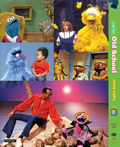 Sesame Street Old School Vol 3 - Back of DVD Digi-Pack