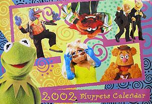 Calendar.muppets2002