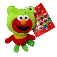 Sanrio 2009 mascot animals frog elmo