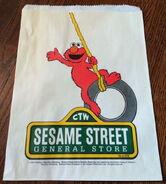Sesame street general store 1990 paper bag 2