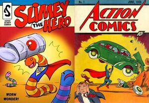 Slimey Action Comics