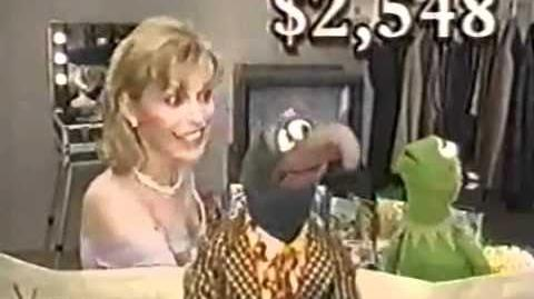 Wheel of Fortune 1999 Kermit Gonzo