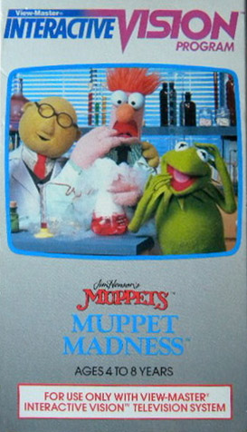 Interactive vision muppet madness