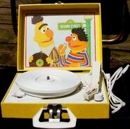Sesame Street record players (Playtime)