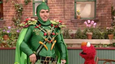 Sesame Street John Leguizamo Is Captain Vegetable